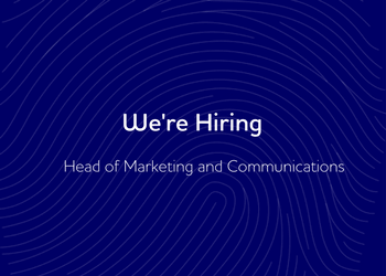 Were hiring – Head of Marketing and Communications
