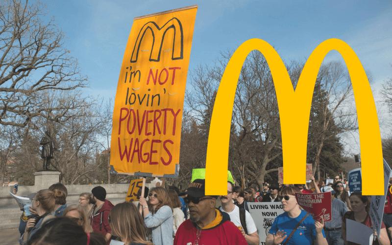 Zero-Hour Contracts: McDonalds Employees Strike