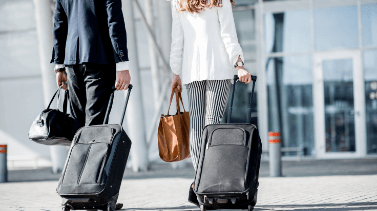Business travellers are keen to see the return of business travel